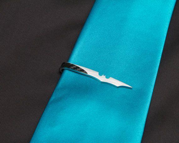 Bat Tie Clip on Etsy, $25.00