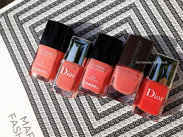 LOVE it. It's gonna be hard to get me to stop wearing this color come fall. The Beauty Look Book: Coral Nail Polishes for Spring and Summer