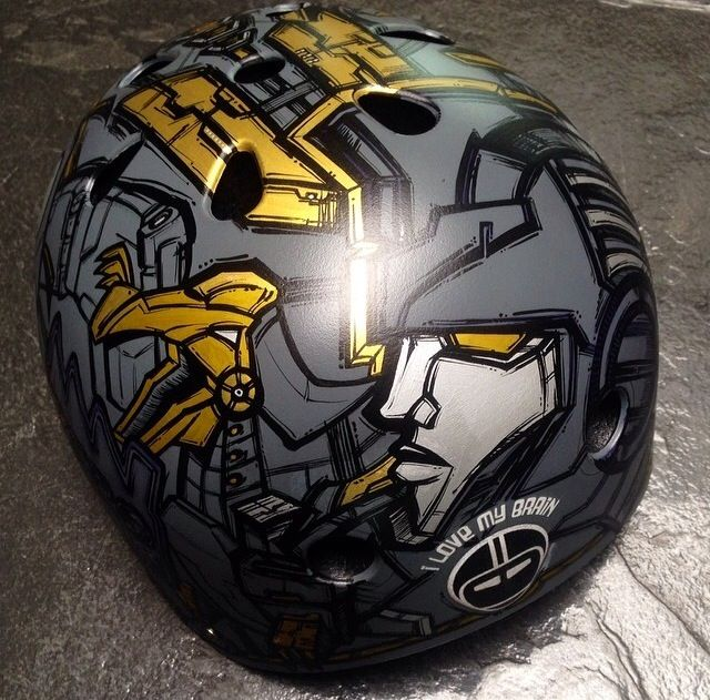 Customized Helmet (Part II / Posterman)