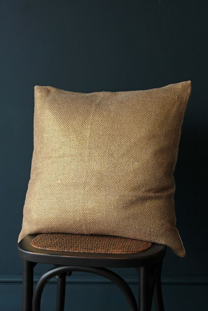 Soft Metallic Cushion - Gold - Cushions - Home Accessories £34