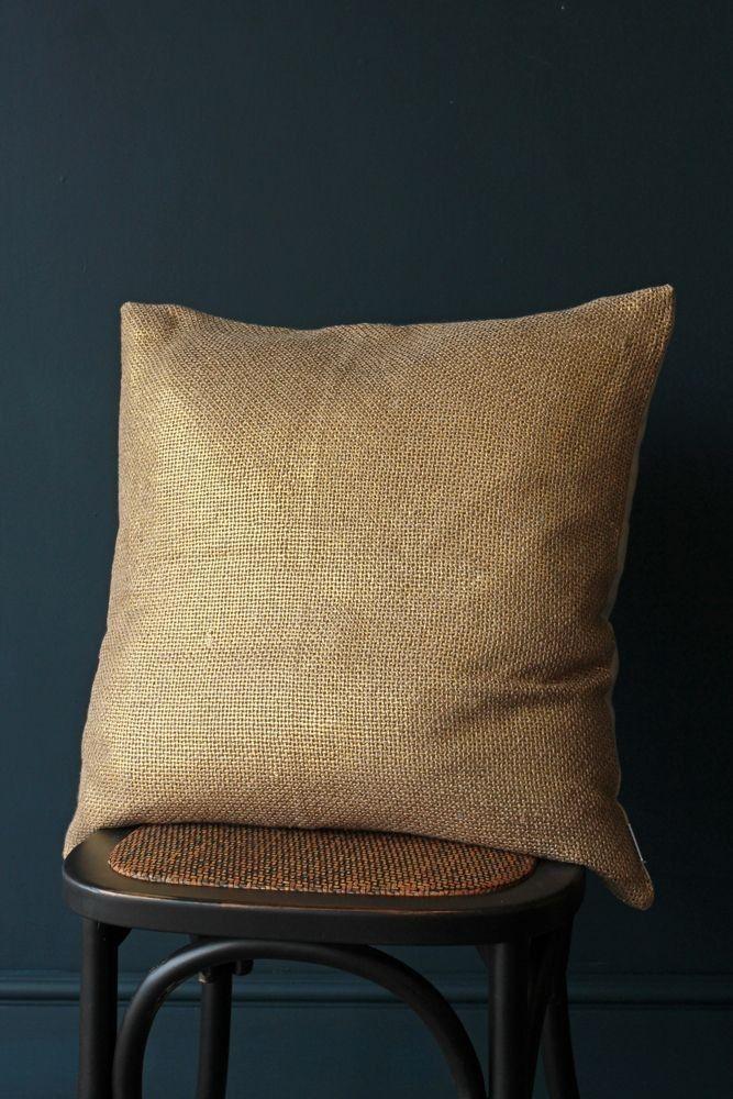 Soft Metallic Cushion - Gold - View All - NEW