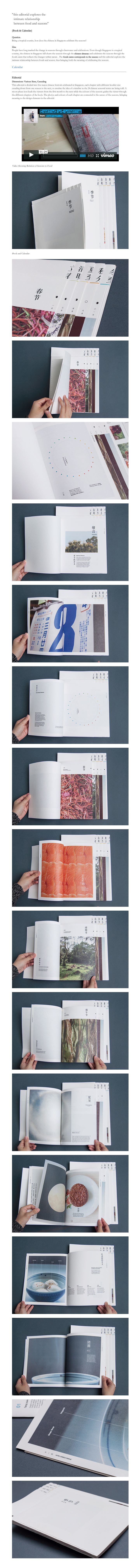 "Seasons In Singapore (Editorial) ""this editorial explores the intimate relationship between food and seasons"" (Book & Calendar)"