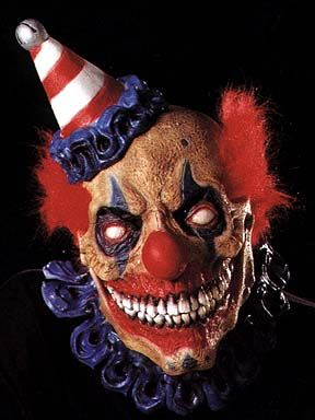 I don't know what it is about clowns but creepy
