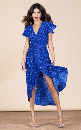 CAYENNE DRESS IN ROYAL STAR
