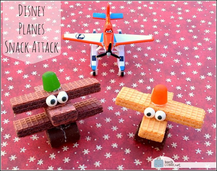 BentoLunch.net - What's for lunch at our house: Disney Planes Snack Attack