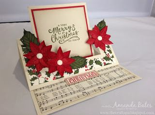 The Craft Spa - Stampin' Up! UK independent demonstrator : Swing Easel Card with new Tutorial