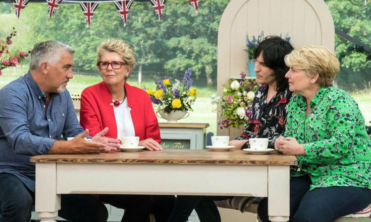 The Great British Bake Off judges and presenters unite for Christmas dinner