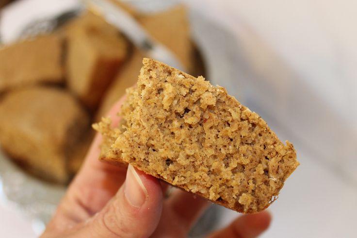 Banana Peanut Butter Protein Bars | Le Gourmet | Pinterest