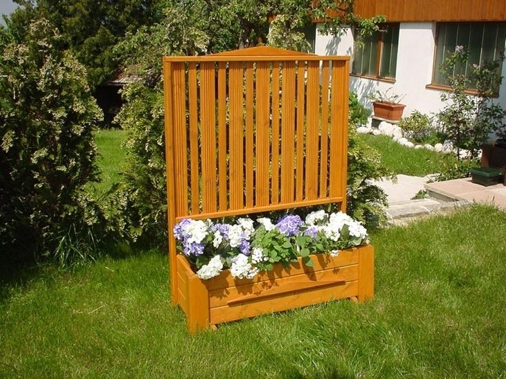 17 best images about garden plants on pinterest raised for Trellis planter garden screen