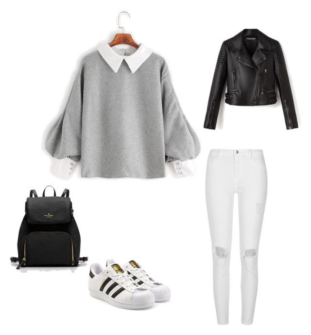 """Untitled #201"" by rekac on Polyvore featuring River Island and adidas Originals"