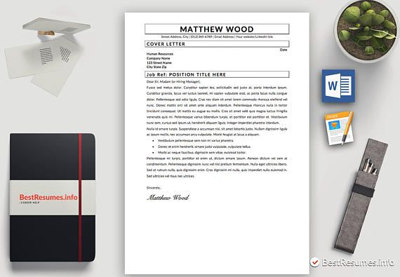 Resume Template Professional Resume Template Instant Download Modern