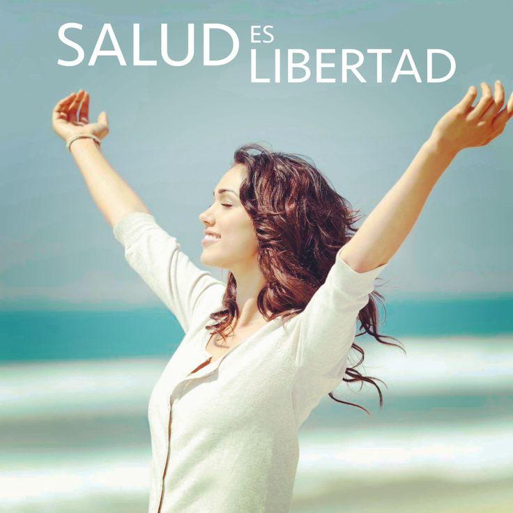 La #salud te da la #libertad de disfrutar la #vida como más deseas. tunatura.com