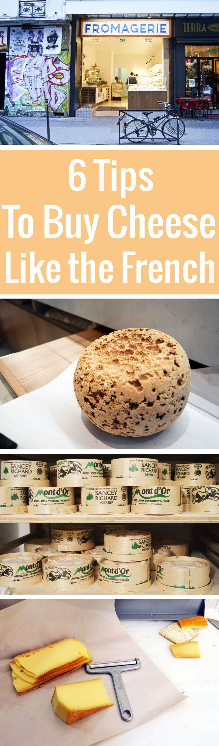 Buying cheese from a Paris cheese shop can be a daunting affair. Not so with our handy guide, complete with tips and phrases to shop like the French!
