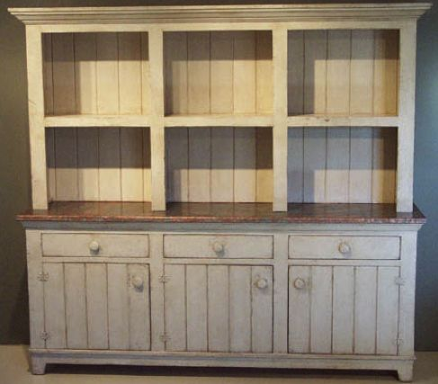 Rustic, Reclaimed Barnwood Buffet - Hutch. Handmade for your Green Home. Beautiful!!