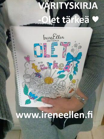 IreneEllen värityskirja – Kokoelmat – Google+