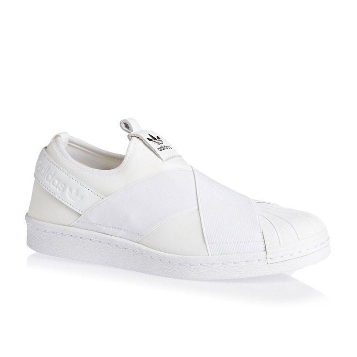 Adidas Superstar Slip On Damen Sneaker Weiß: Amazon.de: Schuhe & Handtaschen