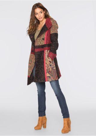 Palton dama Desigual multicolor