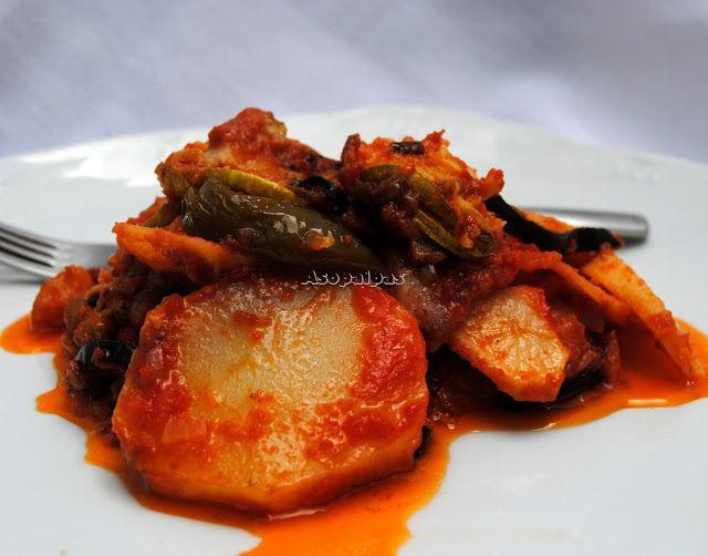 Verduras de Verano con Salsa de Tomate