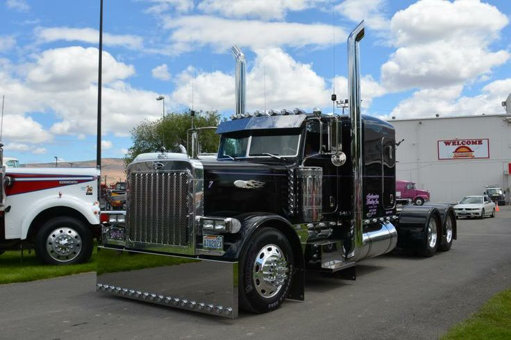 Peterbilt 379 Flat Top Flat top pete's on pinterest