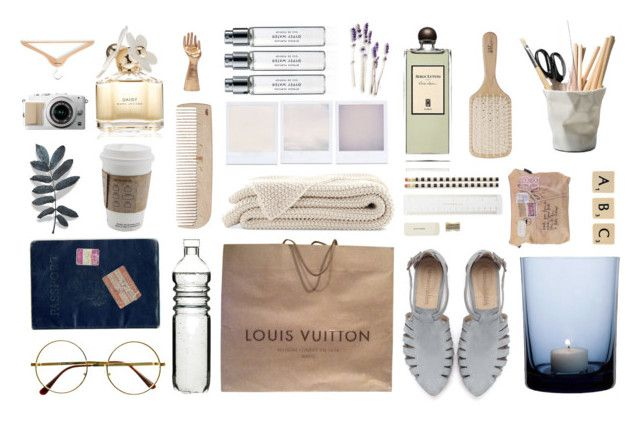 """Untitled #76"" by line00 on Polyvore featuring interior, interiors, interior design, home, home decor, interior decorating, Retrò, Sagaform, Louis Vuitton and HAY"