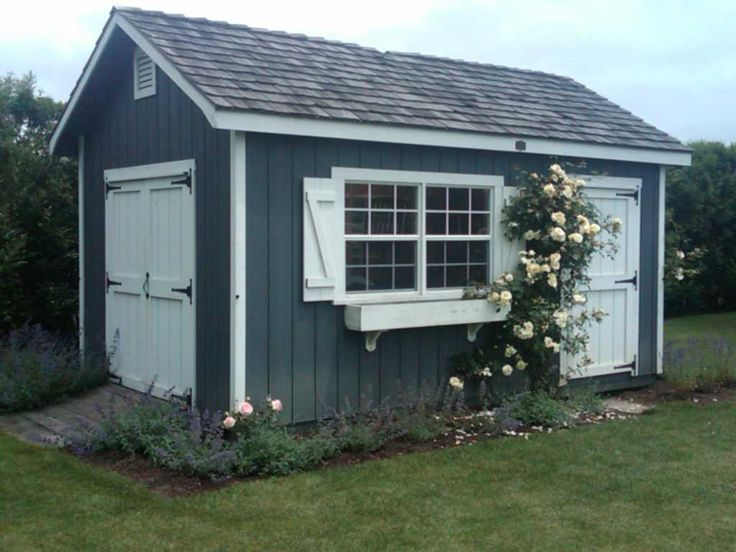 garden shed storage tool shed building