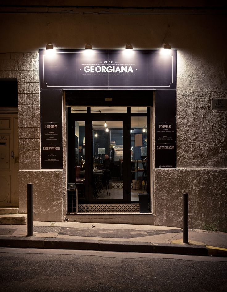 Georgiana Restaurant Marseille