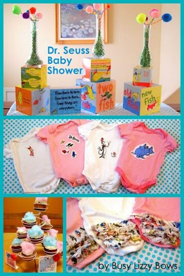 Dr. Seuss Baby Shower Ideas Round Up