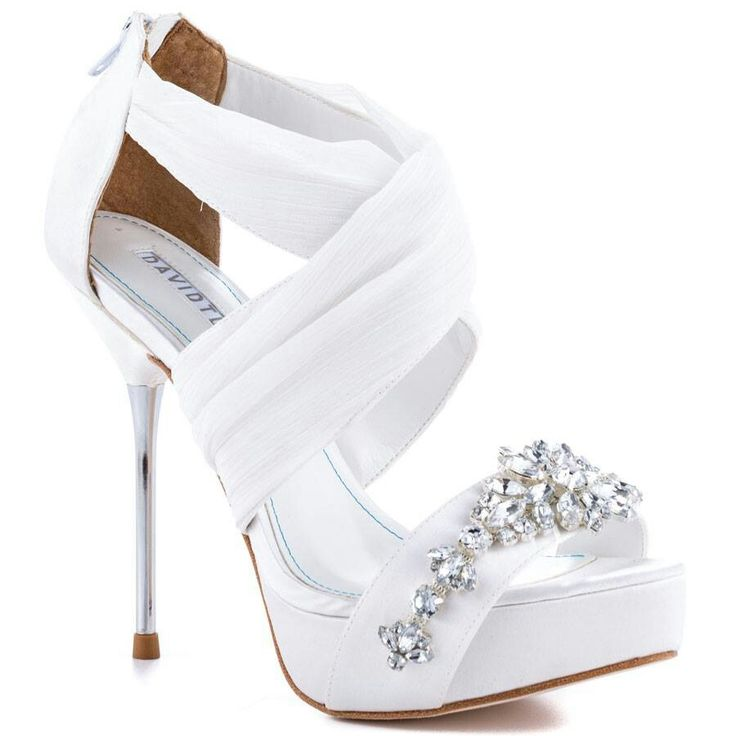 Wedding shoes. David Tutera ~ Bouquet