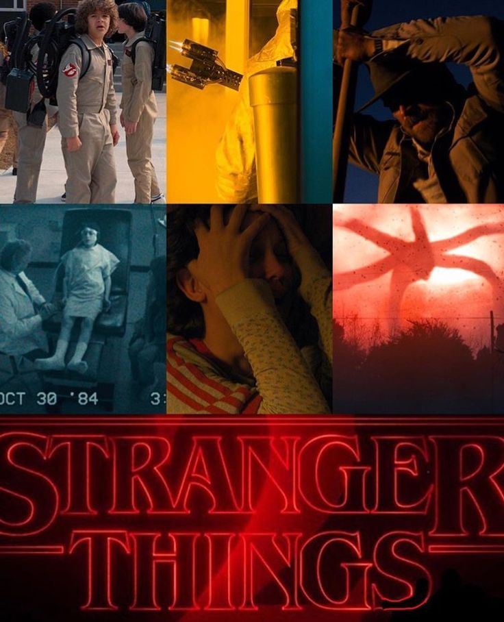 pictures from the stranger things season 2 teaser!! link to video is in bio!❤