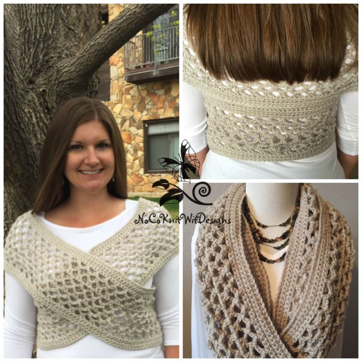 Crochet Vest Pattern (Instant Download) | Boho Crochet Vest | Infinity Scarf | Sweater Vest | Crochet Cowl | Crochet to Make and Sell