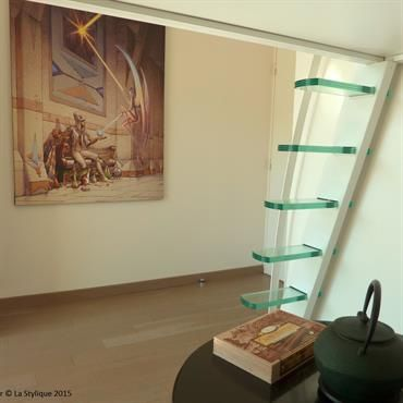 1000 id es propos de chelle suspendue sur pinterest - Etageres suspendues plafond ...