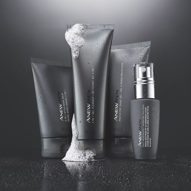 Our ANEW Men skin care collection has everything from a cleanser to a shave gel that will make him a brand-new man! #ANEWyou