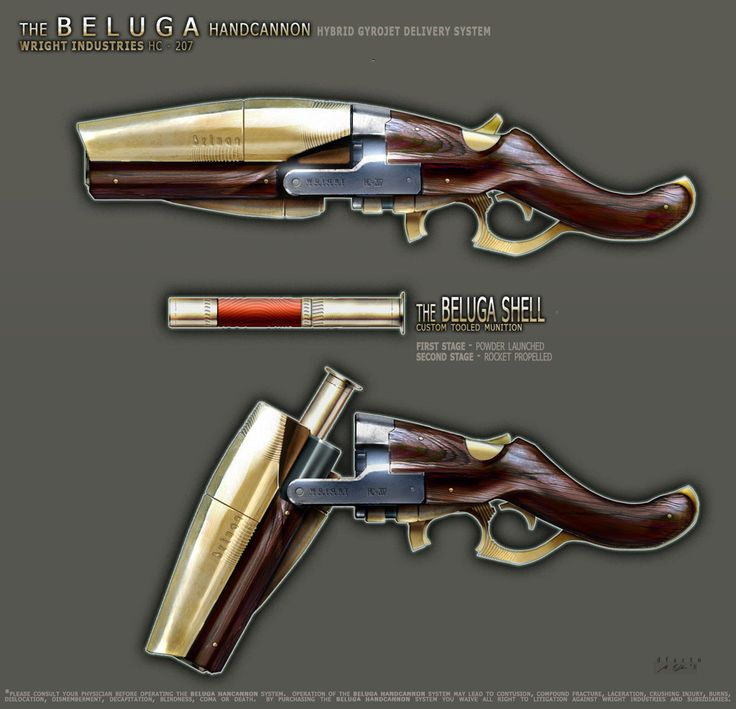Beluga Handcannon v2 by dfacto.deviantart.com on @deviantART