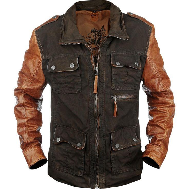 Dino (Gipsy) Leder-Jacke jetzt kaufen! EMP