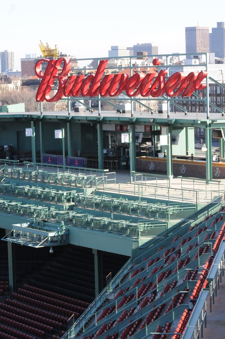 The Bud Roof Deck Seats Provide A Great View For Games At