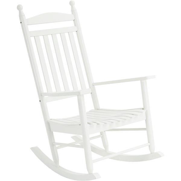 Jack Post-Fuzhou Kn-22W Knollwood Classic White Rocking Chair - $147.89. https://www.tanga.com/deals/7348ae778a65/jack-post-fuzhou-kn-22w-knollwood-classic-white-rocking-chair