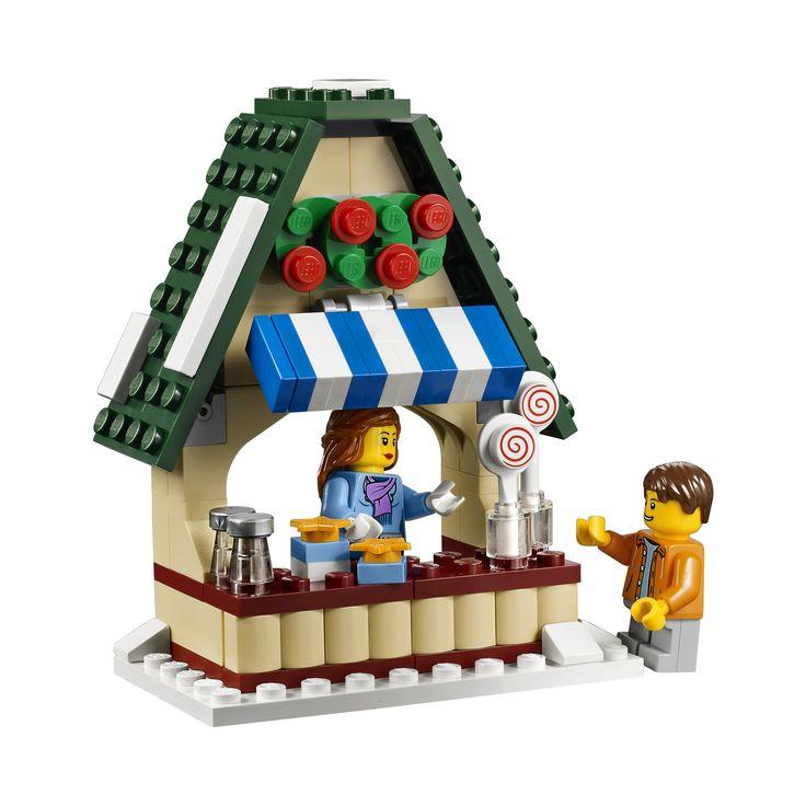 LEGO Winter Village Market 10235 | A Lego a DayA Lego a Day #LEGO lego