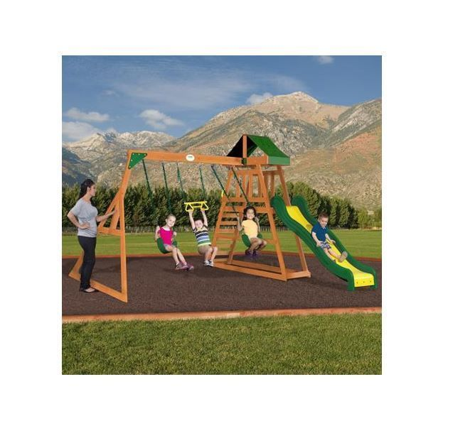 Kids Playground Equipment NEW Backyard Discovery Prescott ...