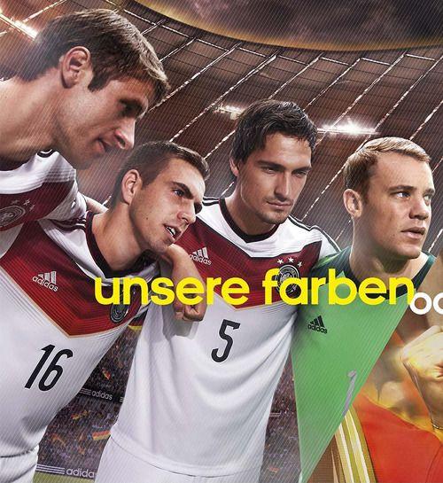 Thomas Müller, Philipp Lahm, Mats Hummels, and Manuel Neuer