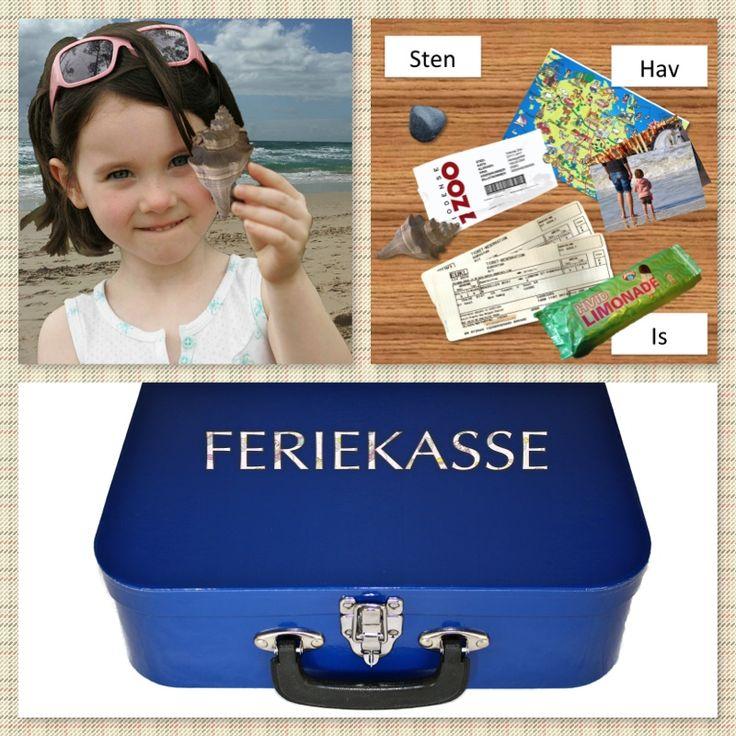 Lav en feriekuffert fyldt med sprog ... saml minder fra de ting I oplever i ferien og skriv ordkort til. Dekorér kassen/kufferten med diverse billetter mm. En sjov aktivitet for alle fra 2 til +99 år.