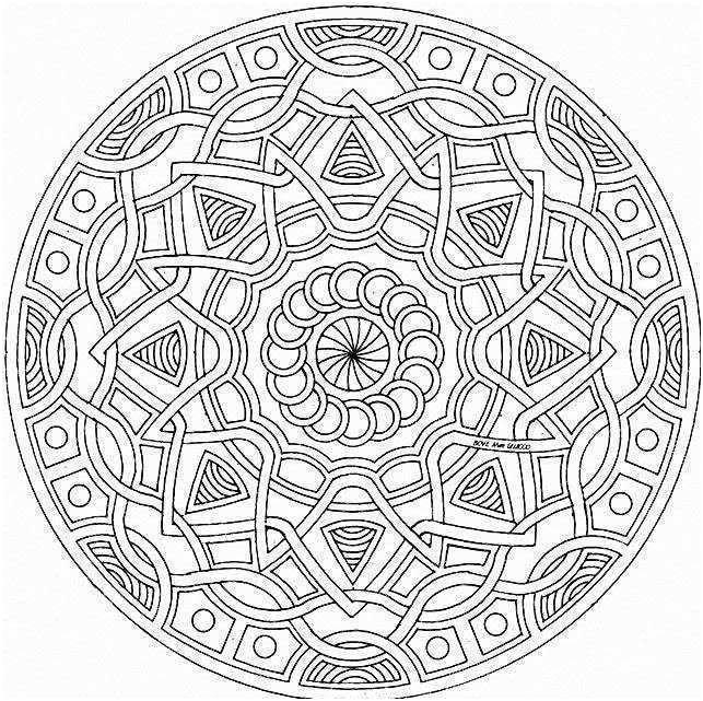 9 Simple Coloriage Difficile D Animaux Stock Mandala Coloring