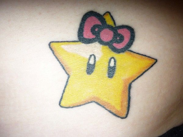 70 tatuagens para fãs de Super Mario Bros.