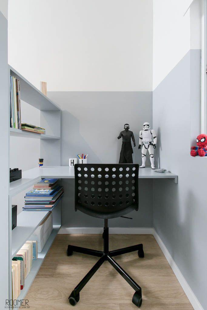 The Half Gray Room – An Inspirational Monochrome Kid's Room