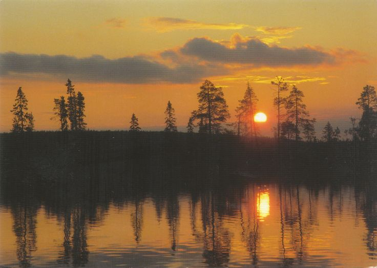 Suomi - Carte reçue de Finlande - Distance: 2,498 km (1,552 miles) - Travel time: 5 days