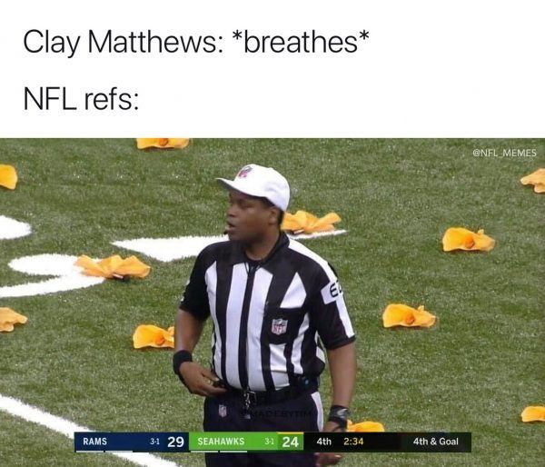 Memes About The Los Angeles Rams Blowing A Win Against The Seattle Seahawks With An Interception And Missed Field Nfl Memes Funny Nfl Memes Funny Sports Memes
