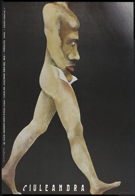 Ciuleandra,  is a 1985 Romanian drama film directed by Sergiu Nicolaescu. Poster Designer : Marian Nowinski, 1986