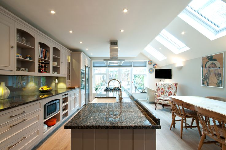 Kitchen and diner back extension