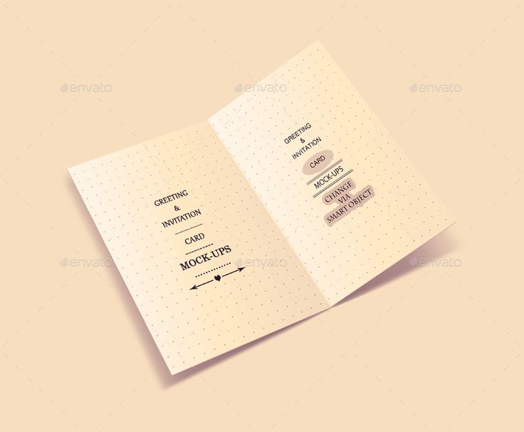31 best Greeting Card Mockup images on Pinterest Design patterns - greeting card format