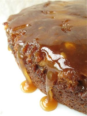Apple Upside-Down Cake - Tangy, sweet, spicy, gooey, and super-duper scrumptious