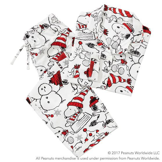 Peanuts 174 Flannel Snoopy 174 Multi Pajama Set Pajama Set